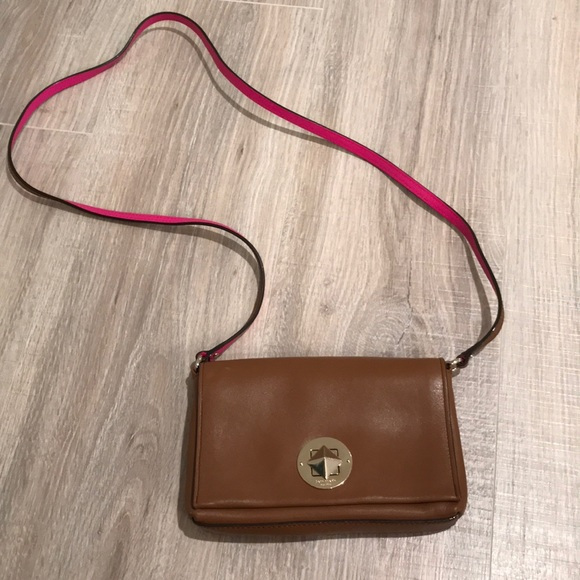 how to find los angeles order online Kate spade brown leather crossbody purse